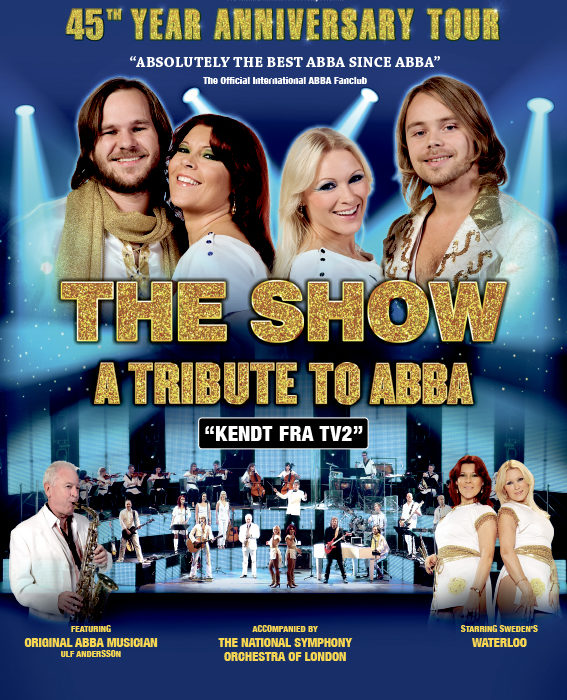 THE SHOW 2019 – A TRIBUTE TO ABBA